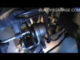 2012 Hyundai Elantra замена переднех тормозных колодок, проверка супорта