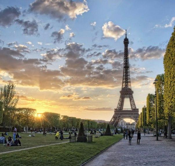 Русские гиды в Париже
