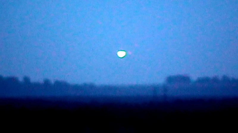 Реальная съёмка НЛО в небе над Нижним Новгородом Сормово UFO