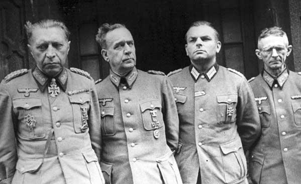 Генералы вермахта в советском плену