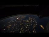 Земля с Международной космической станции - интервальная съемка видео.Это нереально красиво