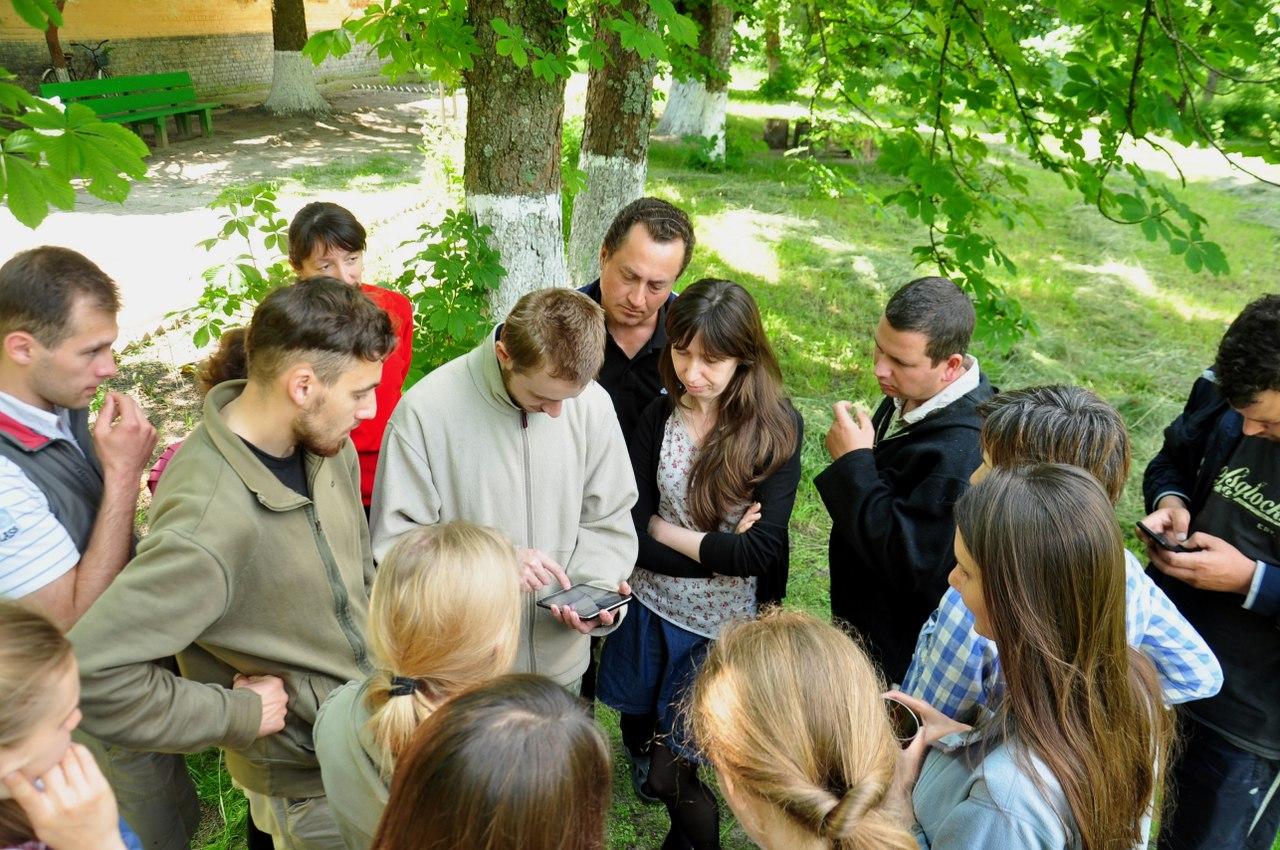 полевая практика на семинаре ГИС и заповедные территории 2016 (фото)