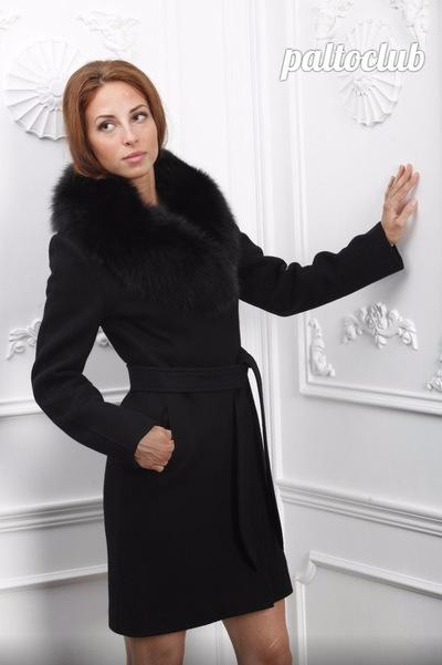 a88eb78b460 Кашемировое пальто с мехом Зима 2018