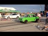 Запор Рвет Мерседеса ZAZ 968 VS Mercedes Drag Racing Тачки СССР Лучшие Корчи В Мире