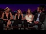 Эмили Блант на шоу Джеймса Кордена #3 (21.04.2016)