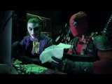Джокер и Харли Квин против Дэдпула и Домино - Joker and Harley Quinn vs Deadpool and Domino - Marvel vs DC Comics