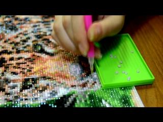 Как пользоваться карандашом для алмазной вышивки