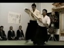 Iwama 1990 Inauguration Demonstration in the new dojo by SAITO Sensei
