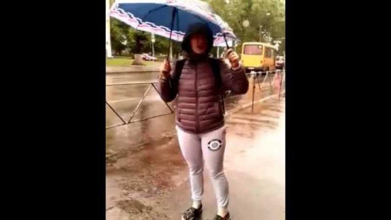 Настя любит жизнь и дождь