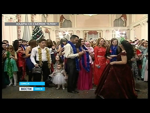 Съемки фильма Елки 1914 в Омске (ВЕСТИ-Омск События Недели 09.11.14)
