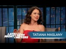 Tatiana Maslany on Playing Multiple Characters in Orphan Black 07 06 2016