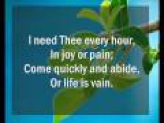 I Need Thee Every Hour _Hymnal_MV