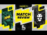 MATCH REVIEW: Na`Vi vs Ad Finem - Game 1 @ The Summit 5