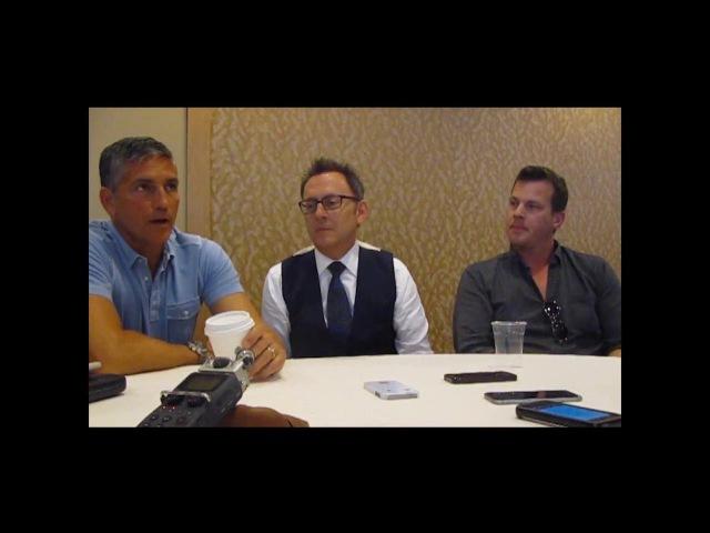 Jim Caviezel, Michael Emerson Jonathan Nolan talk PERSON OF INTEREST final season