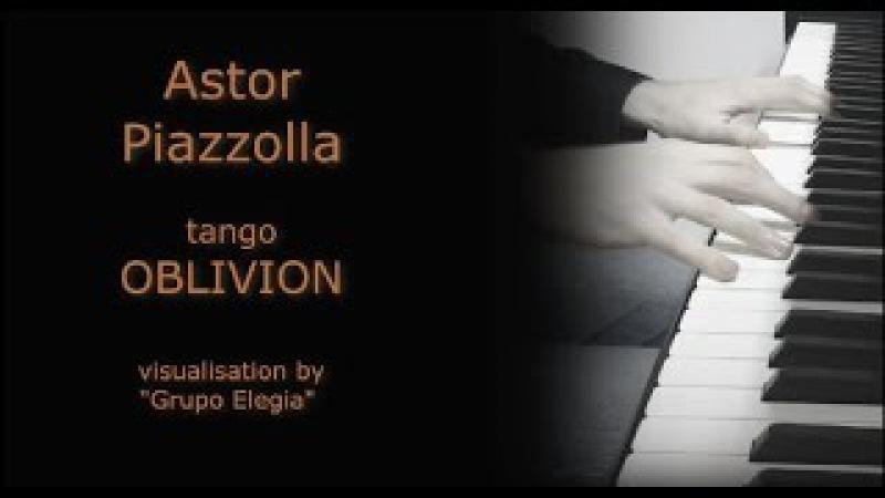 Astor Piazzolla - tango Oblivion / piano solo