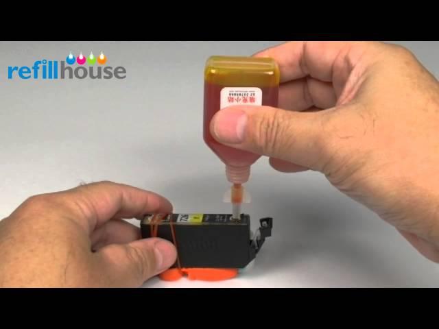 Refill Canon PGI-725-225-325-425-525-625-825, CLI-726-226-326-426-526-626-826 Inkjet Cartridge