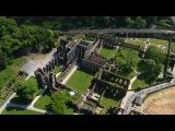 Prises de vue aériennes par drone de l'Abbaye de Villers-la-Ville (Belgique)