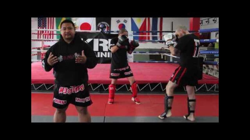 KRU Muay Thai Tip of the Week - Strategy Leg Kick Feint