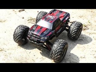 Машинка на радиоуправлении. Монстр Трак - Rc Turbo Racer RC Monster Truck 9115 2WD - Cars Toy Video