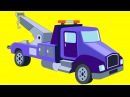 Arabalar çizgi filmleri İzle. Kamyon çekici Çöp Kamyonu Monster Truck. Eğitici çizgi film