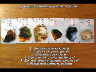 Характеристика колоды Ленорман Alone΄s Vision Lenormand Card
