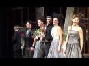 """Поклоны премьерного спектакля """"Собака на сене"""", Театр Сатиры, 16.03.16 г."""