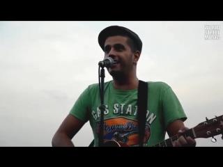 Abdel Kader at Montmartre in Paris.