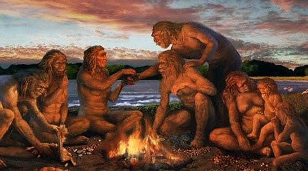 30-40 тысяч лет назад...