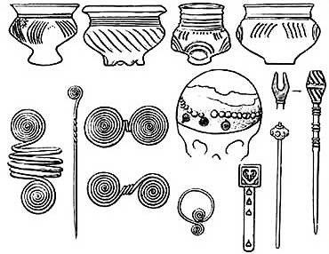 Этим вещам, пользовались наши древние предки