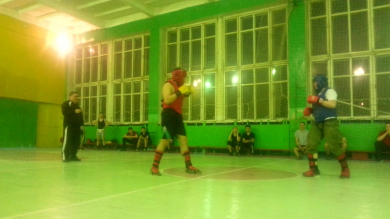 тренировка бой номер 2