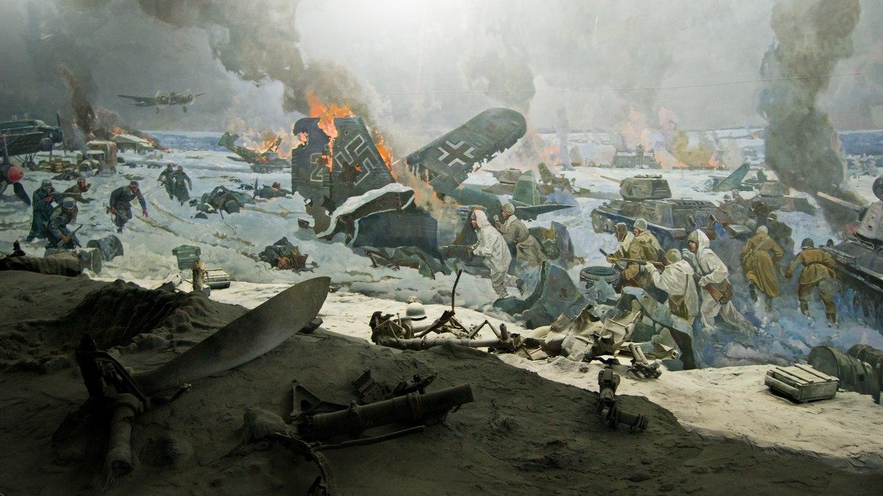 Битва сталинградская картинки