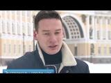 Телеканал «Санкт-Петербург» — Новости — По Дворцовой на сноуборде- Как экстремалы штрафов не боятся