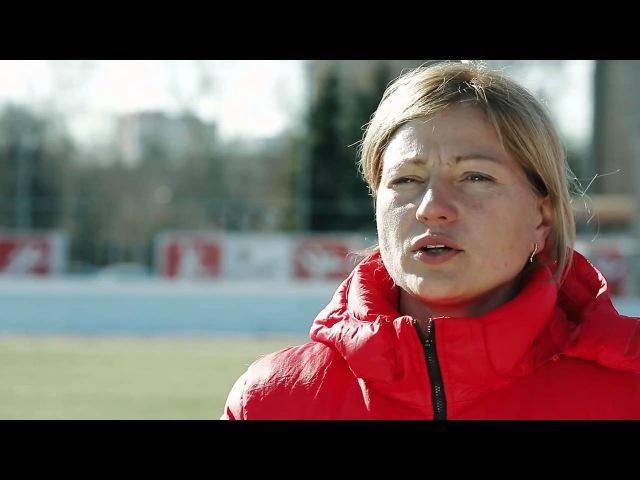 МАТЧ ТВ о женском футболе. ФК Россиянка .