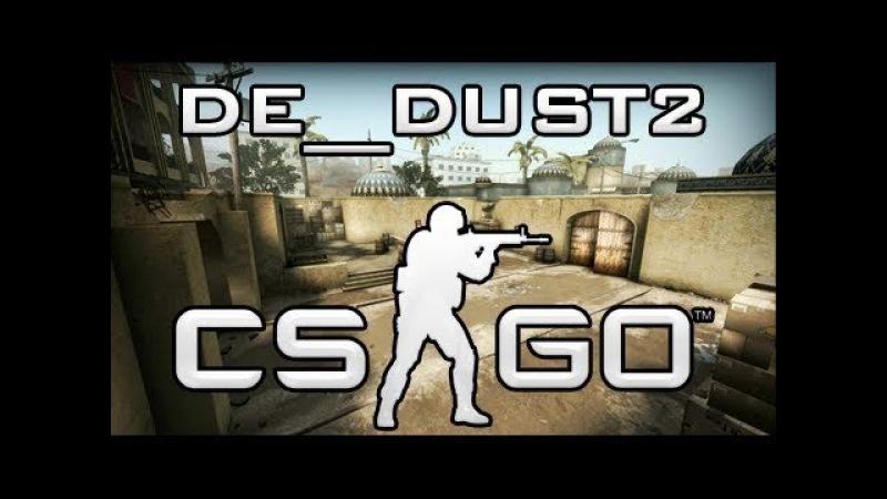Saniro играет на De_dust2 2 (CS:GO)