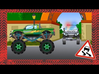✔ Beast Monster Truck. Cars Racing / Crazy Speed and Hard Race / Game play for kids / Video for kids