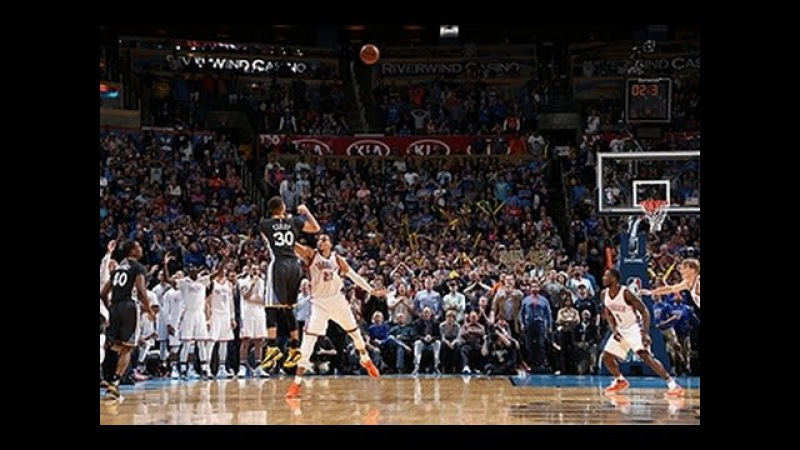 Steph Curry Drains the Game Winner vs Oklahoma City