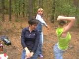 Танец в лесу.