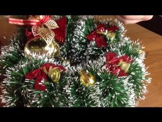 ★DIY★_ Как сделать новогодний венок своими руками _украшение для дома к Новому Году