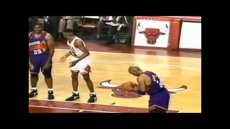 Barkley and Pippen trash talk: