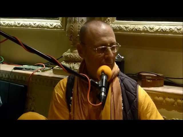 Bhajans by HH Sivarama Swami, ISKCON London, 2012 01 14