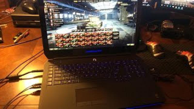 Обзор нового (2015) игрового ноутбука Alienware 17 от компании Dell