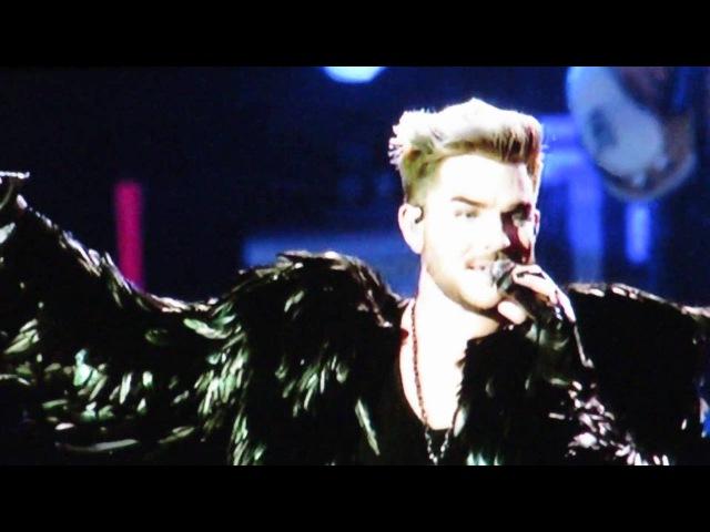 Queen and Adam Lambert Don't Stop Me Now IOW Festival 12-6-2016