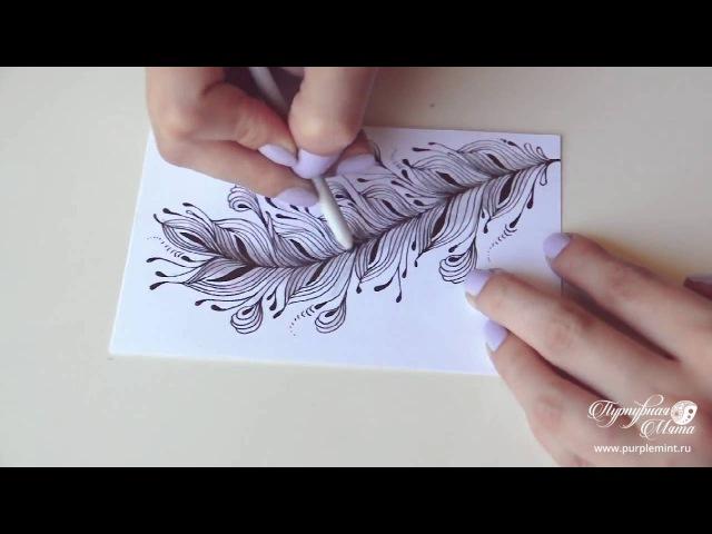 Перо. Дзен-Графика.
