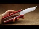 How to Make -Как сделать нож бабочка из бумаги кс го Репостни запись в контакт
