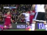 Валенсия - Эспаньол 1:1.гол  Альваро Негредо.