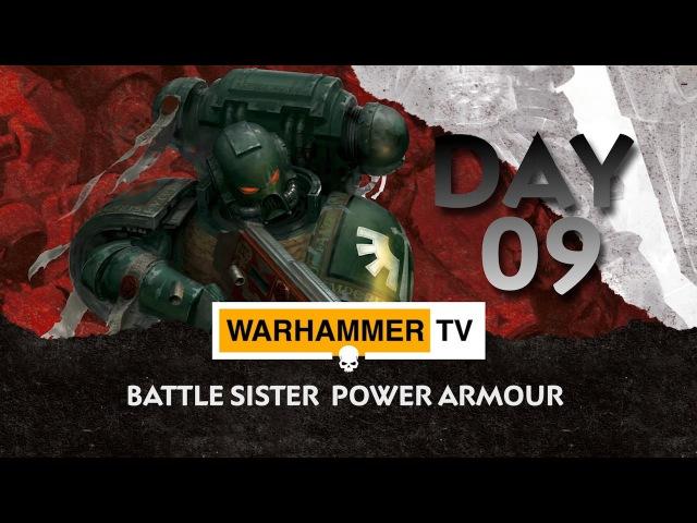 Battle Sister Power Armour - Advent Calendar Day 9