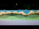 Making of Big Sky Country - Great Cakes Soapworks - Sculpted Layers