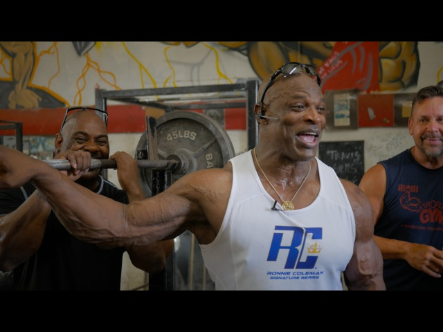 8X Mr Olympia Ronnie Coleman's Memories at Metroflex Gym