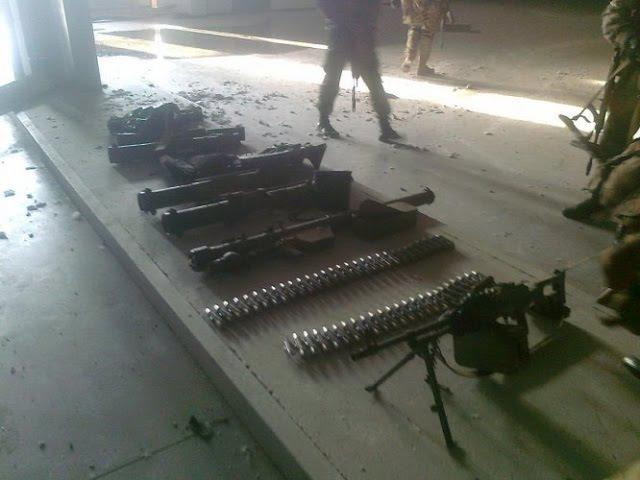 Оружие НАТО оставленное ВСУ нашли в Луганске