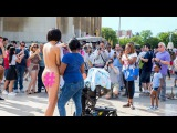 NAKED SELFIES | Performance by Milo Moiré (2015)